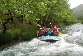 Rafting στον Λούσιο ποταμό
